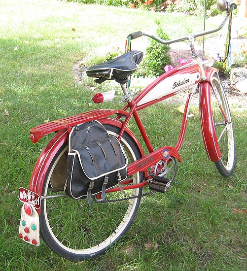 1956 B.F.Goodrich Schwinn Hornet Bicycle
